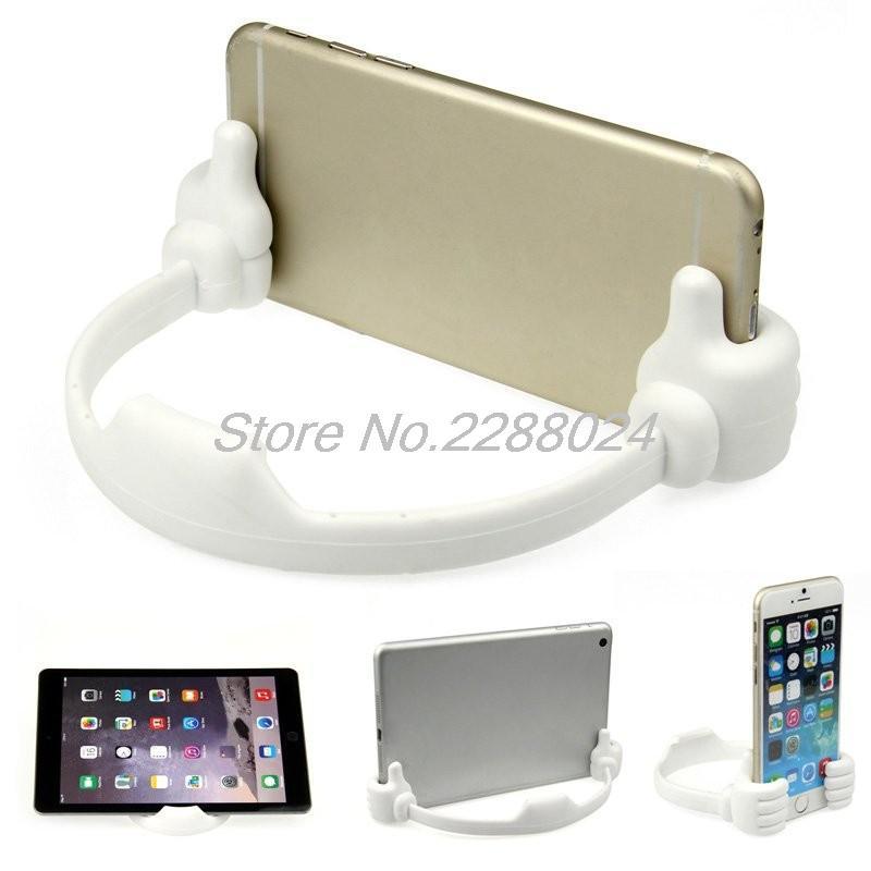 Lazy Mobile Phone Holder Bed Thumb Cell Smartphone Tablet - Ανταλλακτικά και αξεσουάρ κινητών τηλεφώνων - Φωτογραφία 2