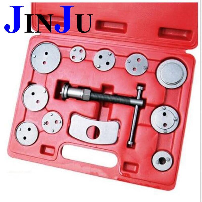 12 Pcs Disc Brake Caliper Wind Back Tool Universal Kit Piston Pad Car Truck Mechanics Auto