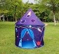 Alta Calidad Azul Cielo Estrella Prince Castle Kids Play Game Niños Carpas Al Aire Libre de Interior