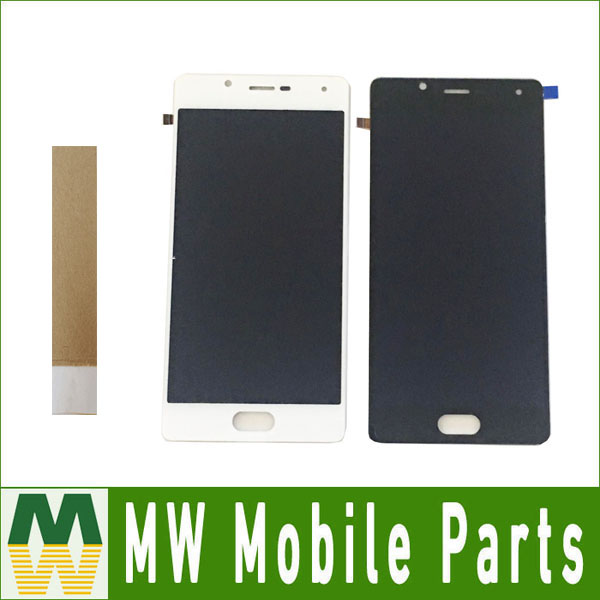 1PC/Lot For Wiko U Feel Lite / For Wiko U Feel LCD Display +Touch Screen Assembly Digitizer White Black color with tape