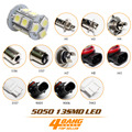 Car-Styling 13 SMD 5050 LED Lamp H1 Bulb Headlight Fog Light 1156 1157 3157 7443 Rear/Brake/Turn/Stop Light
