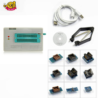 Free Ship TL866A Programmer 10 Adapters English Russian Manual High Speed TL866 AVR PIC Bios 51
