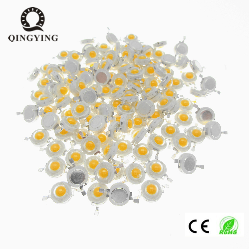 10pcs <font><b>1W</b></font> 3W <font><b>LED</b></font> COB Lamp Chips 33mil 45mil Epistar Warm White Cool White Red Green Blue Yellow Grow <font><b>led</b></font> Diodes For Spotlight image
