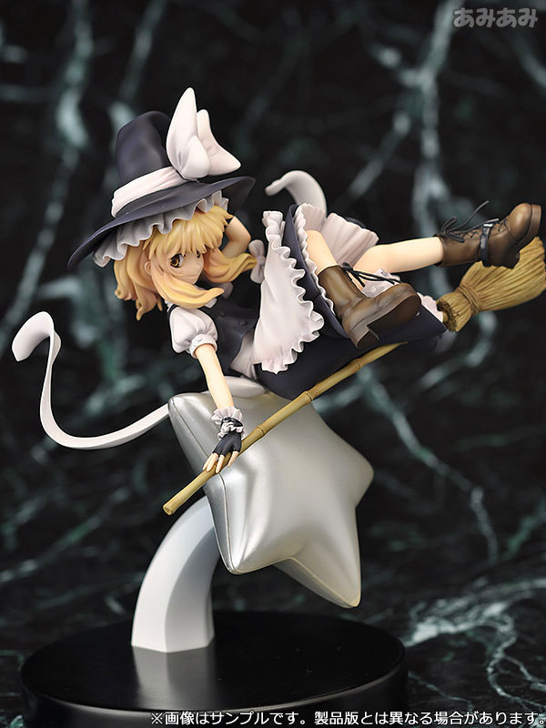 22cm Touhou Project Marisa Kirisame 1/8 scale Anime Action Figure PVC Collection Model toys brinquedos for christmas gift22cm Touhou Project Marisa Kirisame 1/8 scale Anime Action Figure PVC Collection Model toys brinquedos for christmas gift