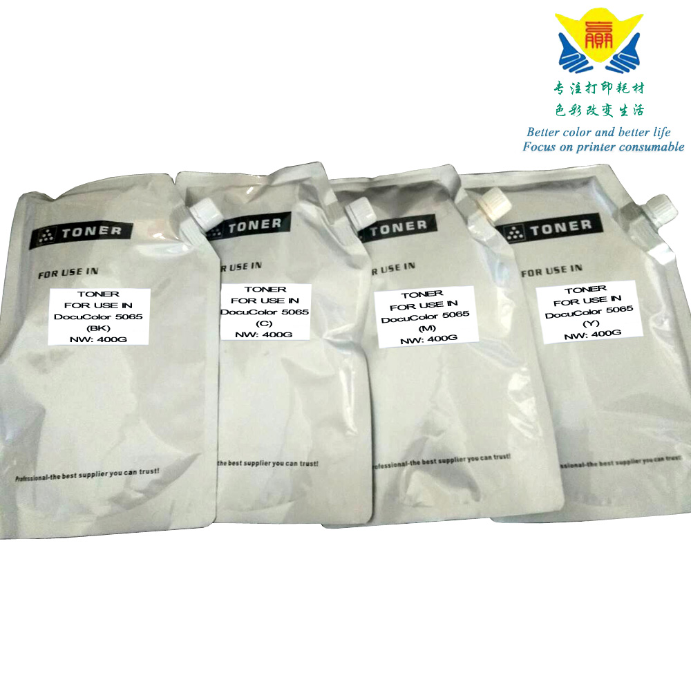 Jianyingchen Appropriate Colour Refill Toner Powder For Xerox Aposport-Iii C5500 Docucolor 5065 (4Bags/lot) 400G Per Bag