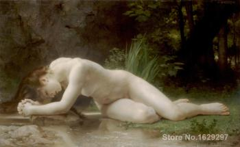 oil Painting portrait Biblis William Adolphe Bouguereau Hand painted High quality