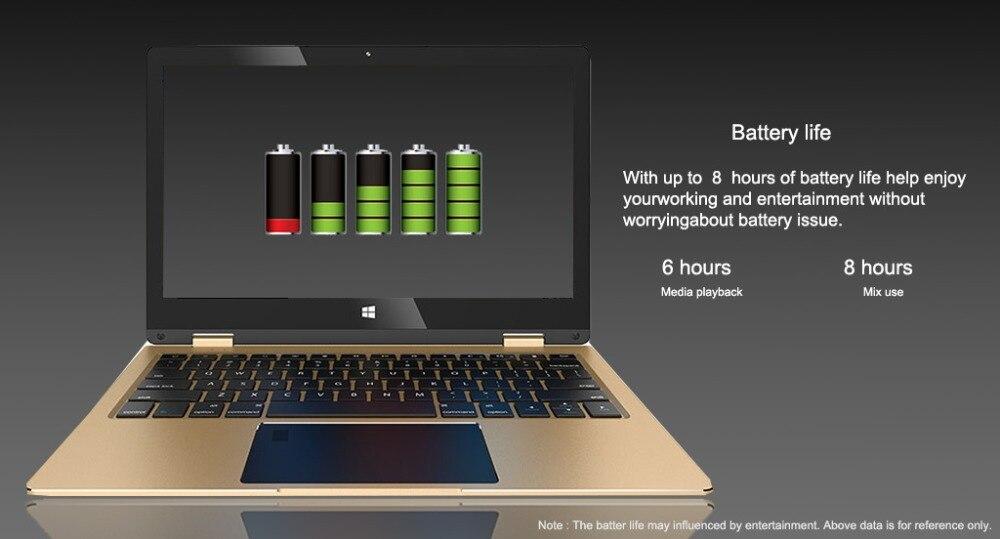 11.6 inch 2 in 1 convertible touch screen Netbook 8GB RAM 1920X1080 IPS Screen 192GB dual band wifi iTSOHOO 360 degree laptop 12