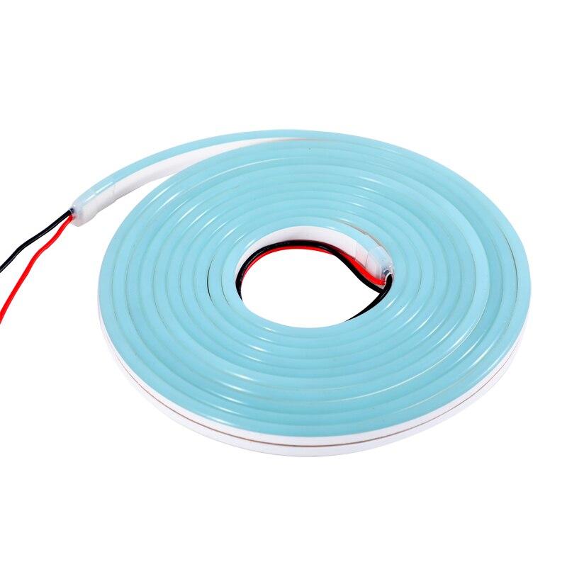 Neon Flex LED Strip Light 12V Waterproof Lights Silicone Flexible Neon Light Belt Name Board Soft Lighting Make Signs Letters 5M in LED Strips from Lights Lighting