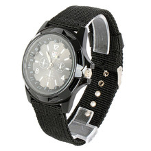 New Arrival Vogue Luxury Relojes Stainless Steel MEN Men's Relogio Military Army Nylon Band Quartz Analog Wrist Watch