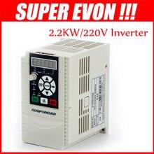 2.2KW 220 В 1HP Переменной Частоты Vfd Инвертор Выход 3 фазы 400 Гц 10A Инвертор