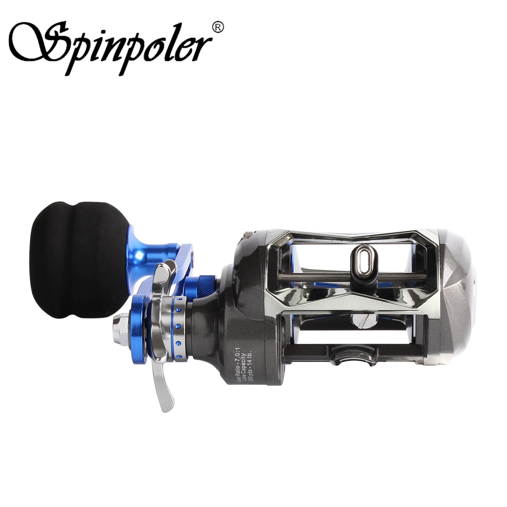 New Left Right Hand 7 0 1 Baitcasting Fishing Reel Smooth Powerful Casting Reel Saltwater Fishing12