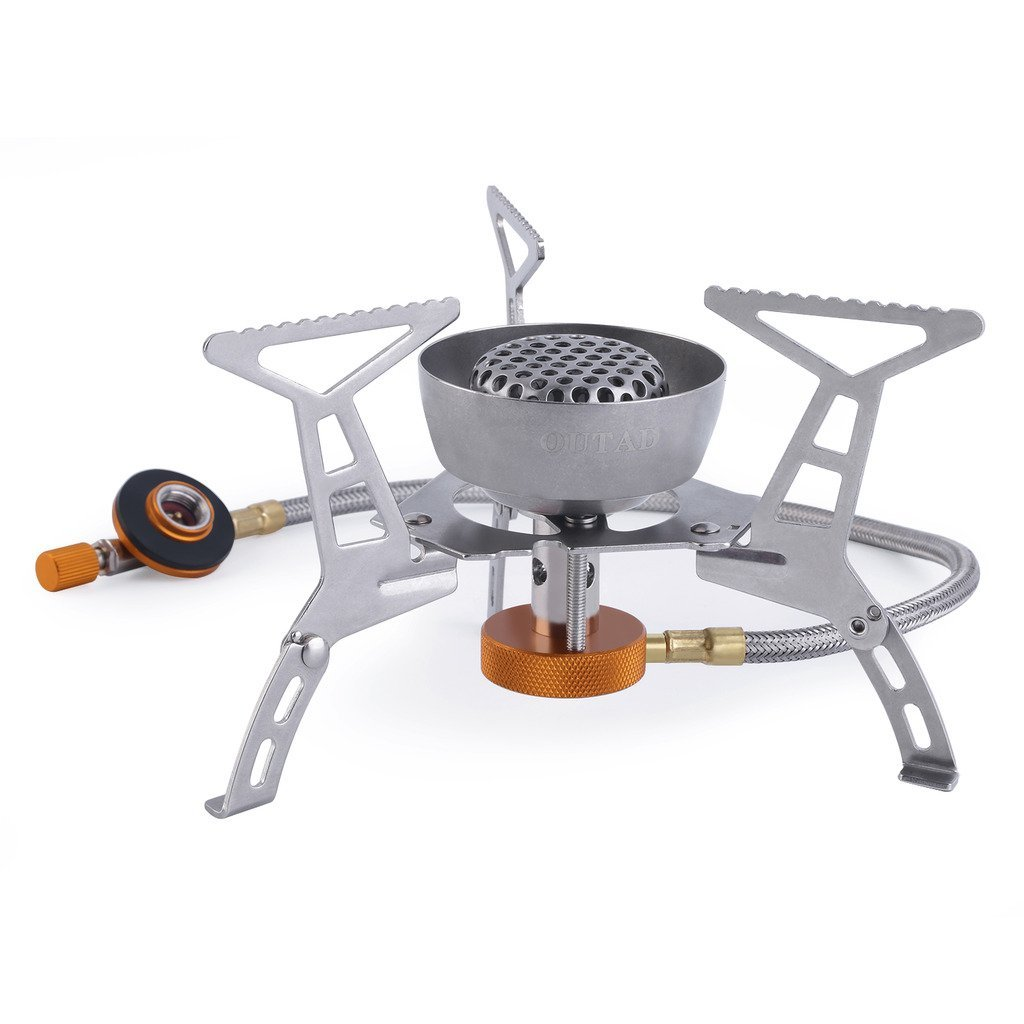 Outdoor Camping Cooking Big Power Windproof Gas Stove