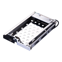 Uneatop ST8210S 2.5 inch SATA HDD/SSD Mobile Rack Enclosure Silver Door