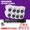 8CH 1080P AHD DVR Kit With 24Pcs Leds 35M IR Night Vision Mini CCTV 1 3MP