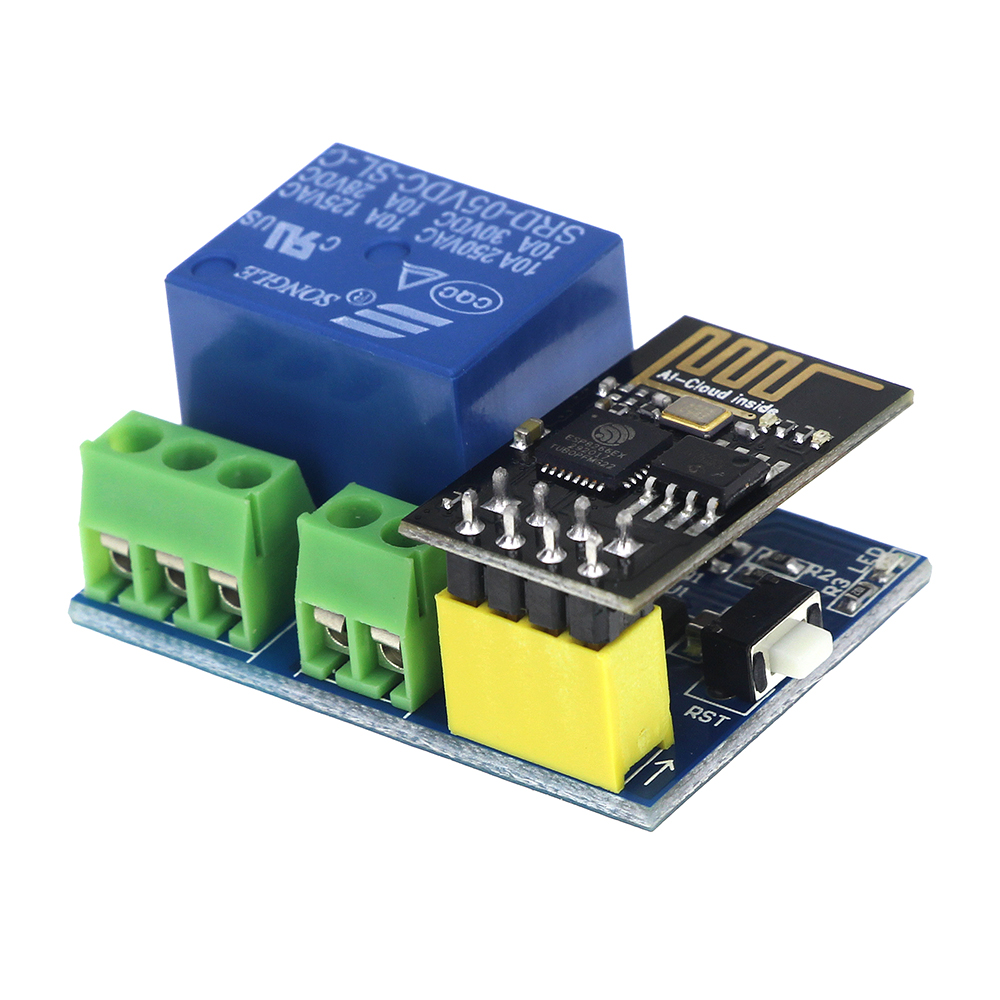 DC 5V ESP8266 WiFi Relay Module Things Smart Home Remote Control Switch Phone APP ESP-01 Wireless WIFI Module official doit mini ultra small size esp m2 from esp8285 serial wireless wifi transmission module fully compatible with esp8266
