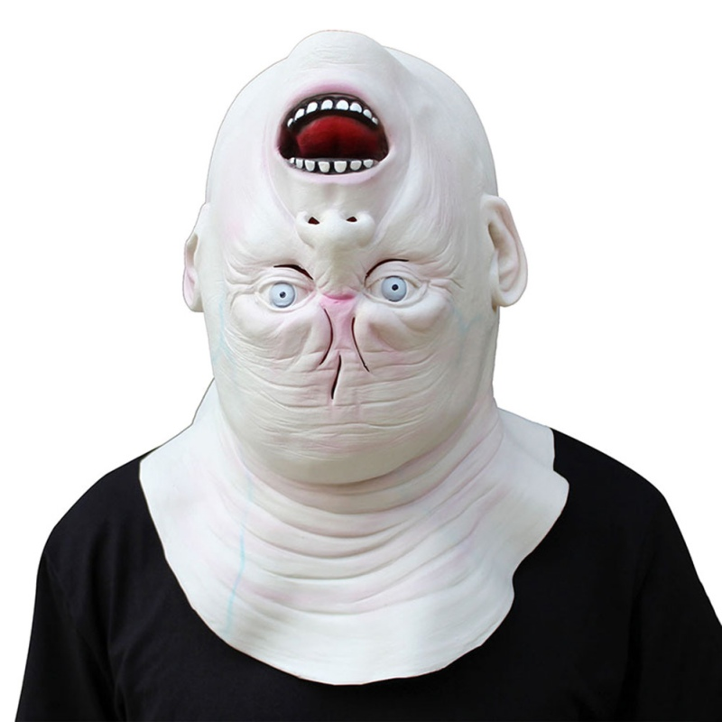 Bad Boy Style Latex Mask Beathable Scary Full Face Head Mask Halloween Masquerade Mask Fancy Dress Party Costume