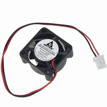 2Pcs Gdstime 2510 DC Cooling Fan 24V Ball Bearing Mini Cooler 25mm Radiator 25x25x10mm 2 Pin