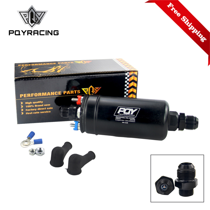 Free Shipping EFI 380LH 1000HP TOP QUALITY External Fuel Pump E85 Compatible 044 style New PQY-FPB003-QY