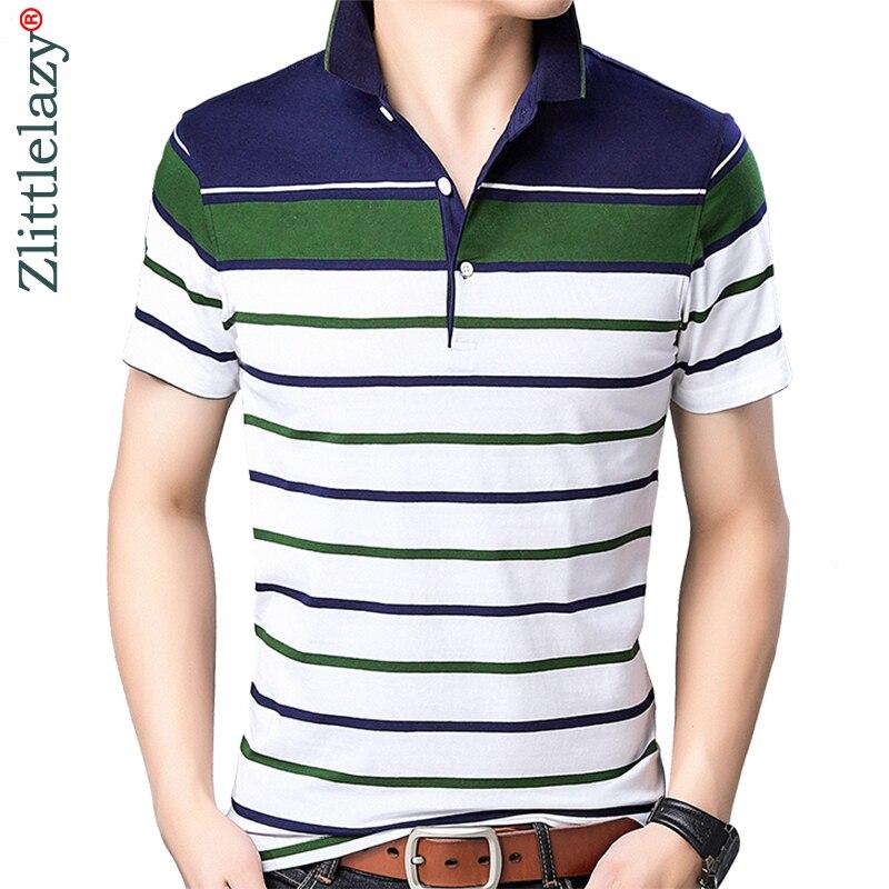 2019 brand casual summer striped short sleeve   polo   shirt men poloshirt jersey quality mens   polos   tee shirts dress fashions 32505
