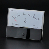 44C2 Model DC 10A Ammeter Ampere Analog Current Meter Measure 0 10A DC AMP Class1 5