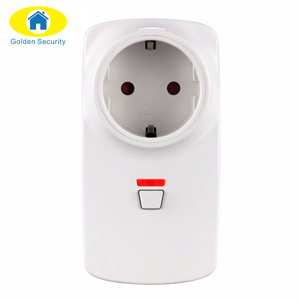 Wireless Remote Control Smart Wireless Socket EU/AU/US/UK Adapter Switch Plug Outlet for Wifi GSM Alarm System G90B Plus hotsale dc 12v 2a power supply adapter for cctv cameras surveillance system eu us uk au plug