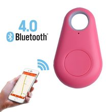 Pet Dog GPS Tracker Child Carphon phone Anti Lost Remind Mini Smart Bluetooth Tracer GPS Locator Alarm Wallet Finder Key(China)