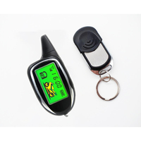 DC 12V Scooter Alarm Motorcycle LCD Screen Alarms Motorbike Security System Motor Remote Start Alarm Motorcycle Accessories