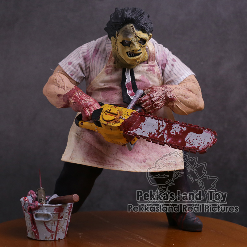 Mezco Saw The Texas Chainsaw MASSACRE Leatherface PVC Action Figure Collectible Model Toy 23cm