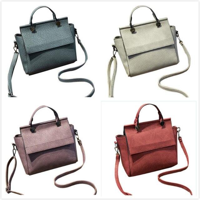 Vsen Винтаж Трапеция сумка Для женщин кожа Сумки дамы партия Сумки на плечо  модный топ c727f5de4d7