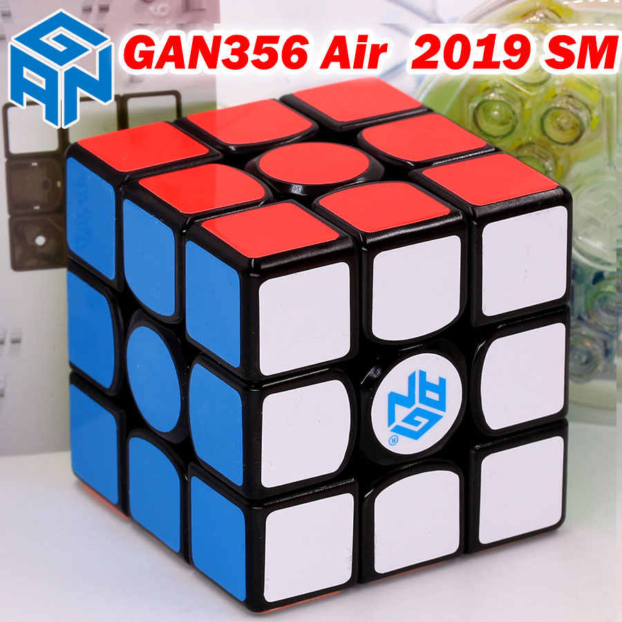 GAN356 GAN356AirSM פאזל קסם קוביית GAN356Air אוויר SM 2019 3x3x3 3*3*3 מאסטר מגנטי מגנט מקצועי הפאזל
