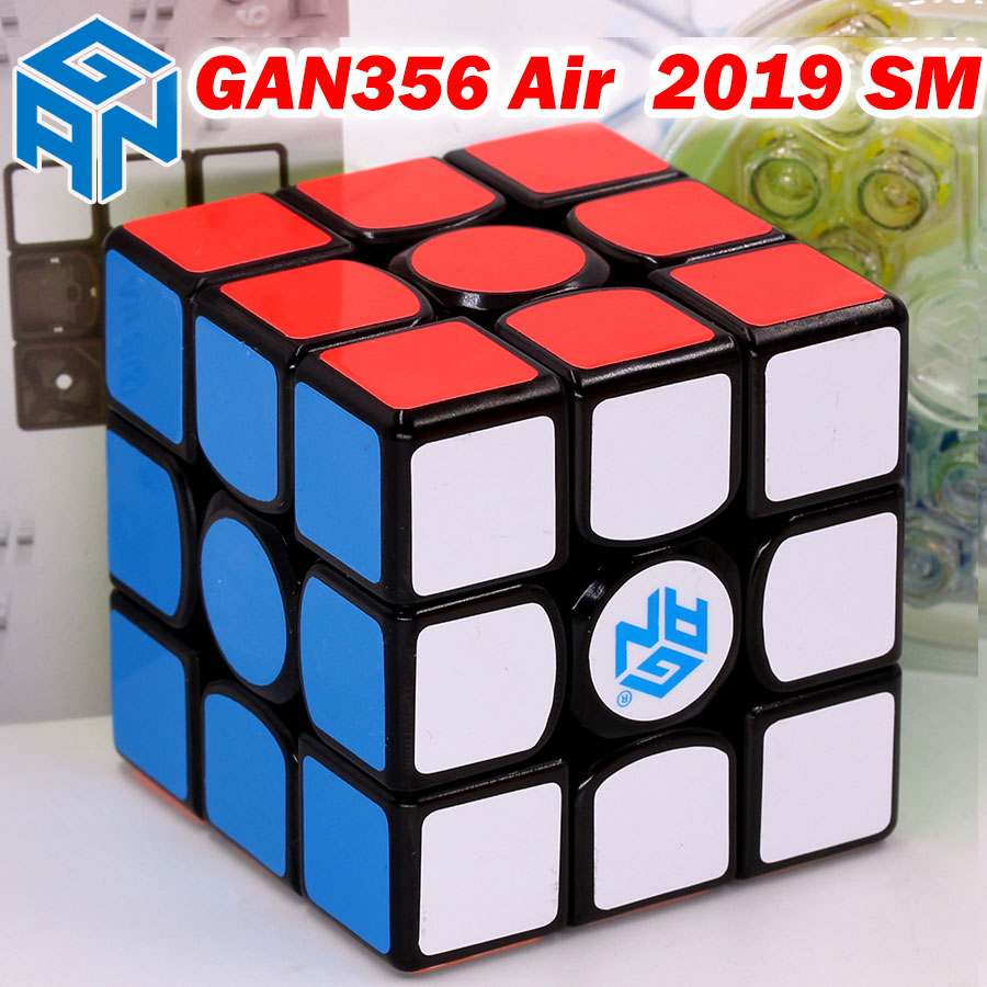GAN356 GAN356AirSM rompecabezas cubo mágico GAN356Air aire SM 2019 3x3x3 3*3*3 maestro imán magnético velocidad profesional-in Cubos mágicos from Juguetes y pasatiempos    1