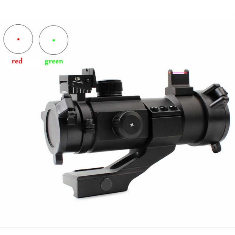 2018 High Quality Metal Hunting Sights Inclined Wall Red Dot Sight M3 Fiber Outdoor Hunting Optics Riflescopes