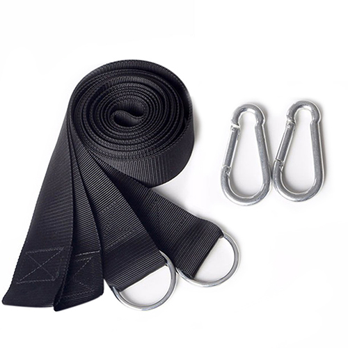 Pet Dog Hammock Hanging Belt Tree Strap Nylon Rope Outdoor Camping Tool with Buckles