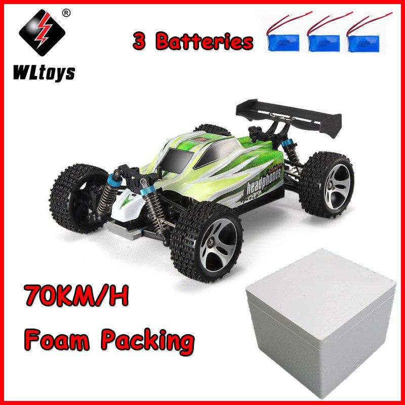 WLtoys A959-B 70 kmh Speedcar RC Corridas De Alta Velocidade Do Carro de Controle Remoto Off-Road Direto Da Fábrica Vender Melhor Preço atualizado RC Car