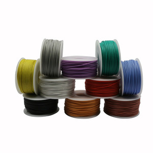 50 метров силиконовый провод 30AWG диаметр провода 0,8 мм многожильный провод луженая медная проволока и кабель 10 цветов на выбор DIY