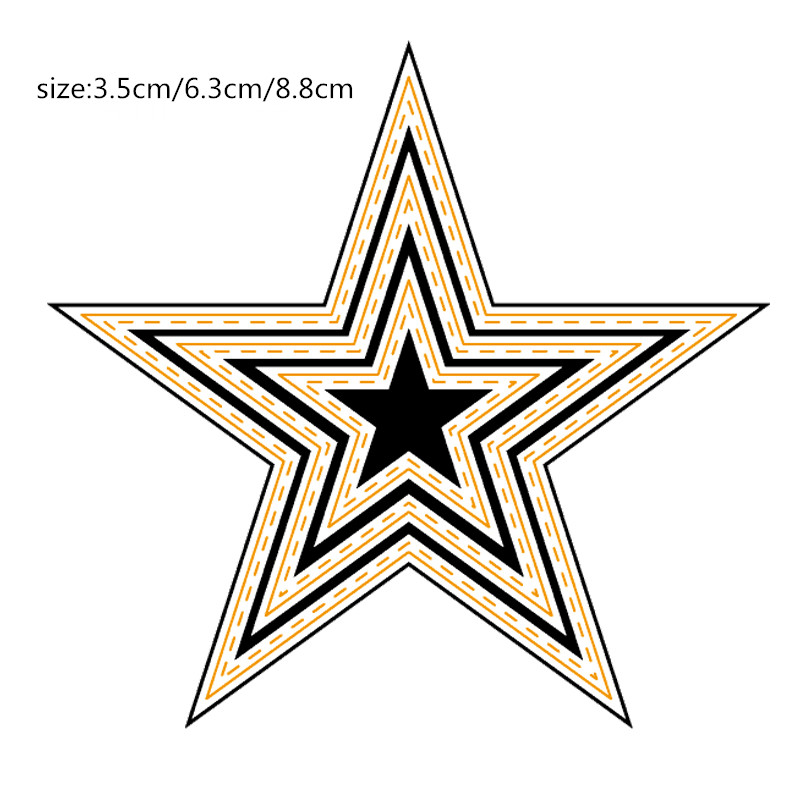 ZhuoAng Geometry Metal Cutting Dies Stencil for DIY Scrapbooking Photo Album Card Making DIY Decoration Supply in Cutting Dies from Home Garden