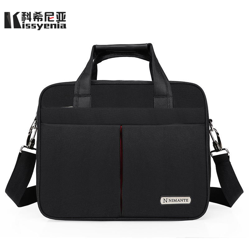 Kissyenia 13 14 15 Inch Laptop Briefcase Men Travel Business Messenger Bags A4 Computer Suitcase Waterproof Shoulder Bags KS1249