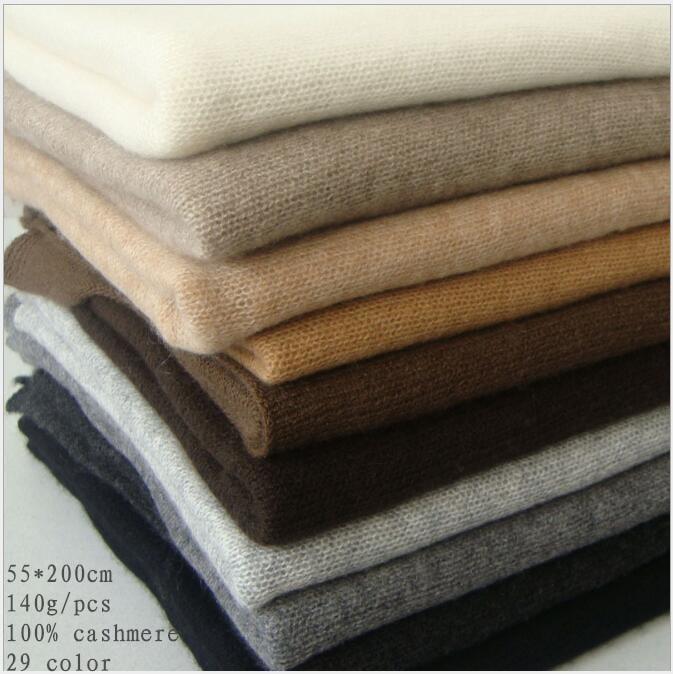 Naizaiga 100% Cashmere 55*200cm Solid Women Winter Cashmere Fashion Men Thick Luxury Shawl, JJFS1