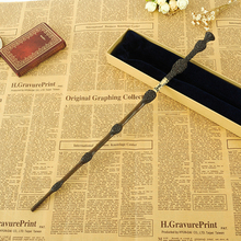 2016 With Iron Core New Quality Deluxe COS Albus Dumbledore Magic Wand of Harry Potter Magical Wands with Gift Box Packing