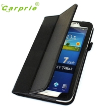 CARPRIE MotherLander New Folio Leather Case Cover Stand For Samsung Galaxy Tab 3 7′ P3200 Feb3