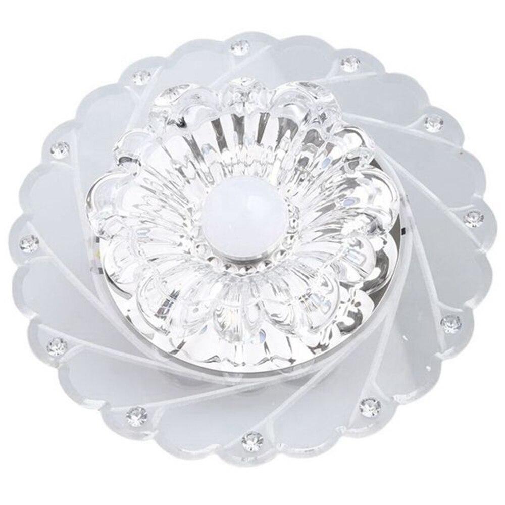Modern Crystal LED Saving Bright Ceiling Quality Glass
