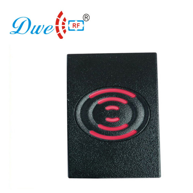 DWE CC RF RFID access control reader waterproof IP65 125khz emid wiegand 26 and 13.56mhz mf wiegand 34 reader for 002D
