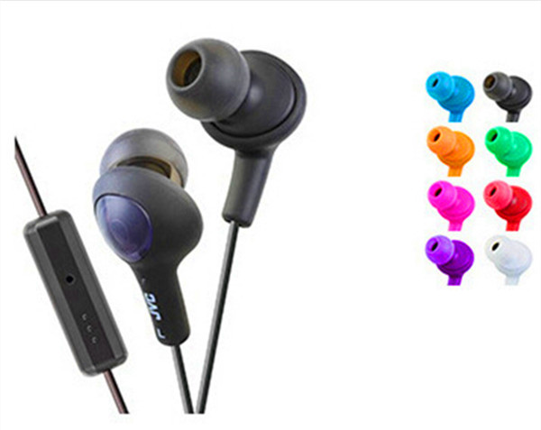 100pcs lot Gummy HA FR6 Earphone With Remote And Mic Headset For iPhone 6  5s 5c ipod Galaxy Tab S6 S5 Note4 Note2 mp3 etc.-in Phone Earphones    Headphones ... 5fc6f2fc39