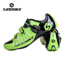SIDEBIKE Males Girls Street Biking Footwear Bicycle Athletic Footwear Mountain Bike Racing Sports activities Using Sapatilha Measurement 40-46