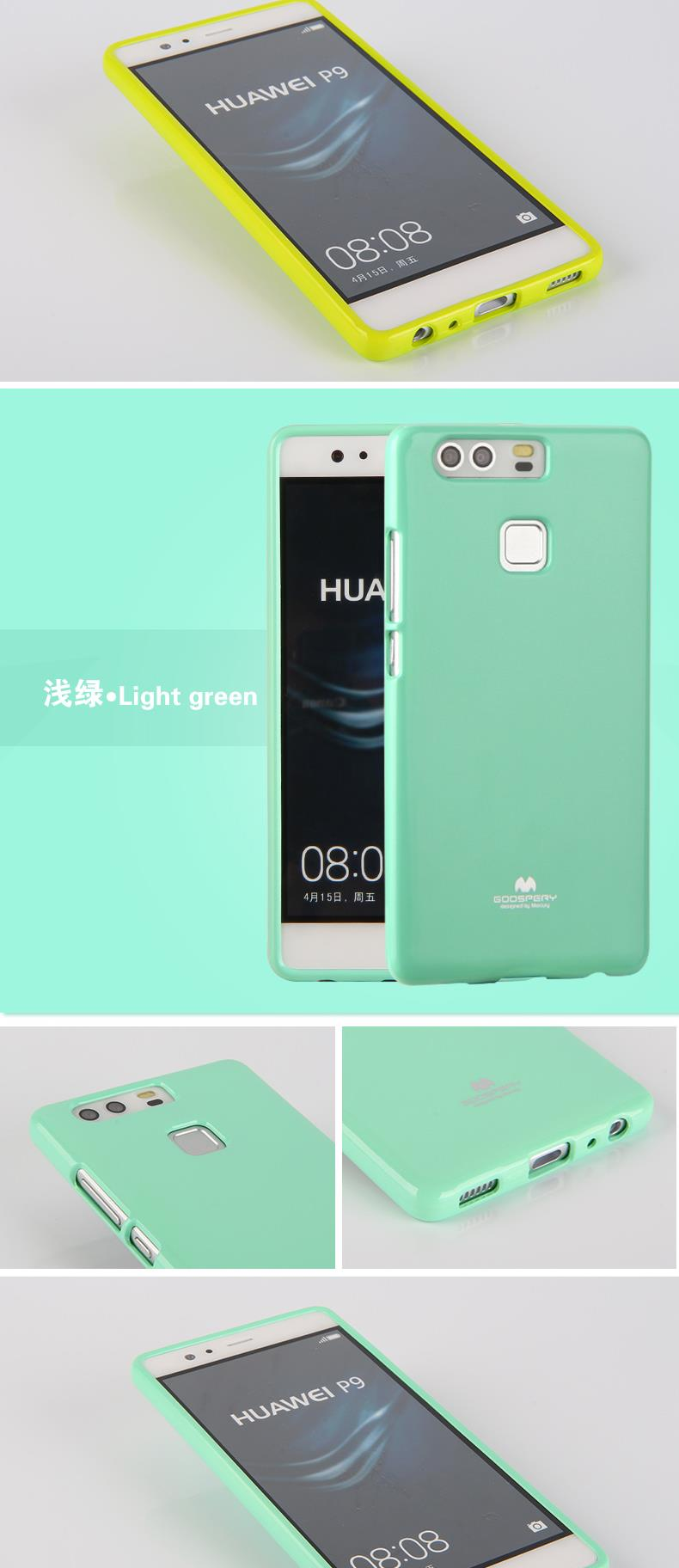 For Huawei P9 Pearl Tpu Case Mercury Goospery Jelly Bling Iphone 8 Plus Soft Feeling With Hole White Aeproduct