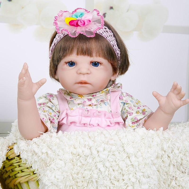 Принцесса Анна 22in прекрасная кукла reborn Младенцы силиконовые reborn baby куклы реалистичные игрушки подарок на день рождения