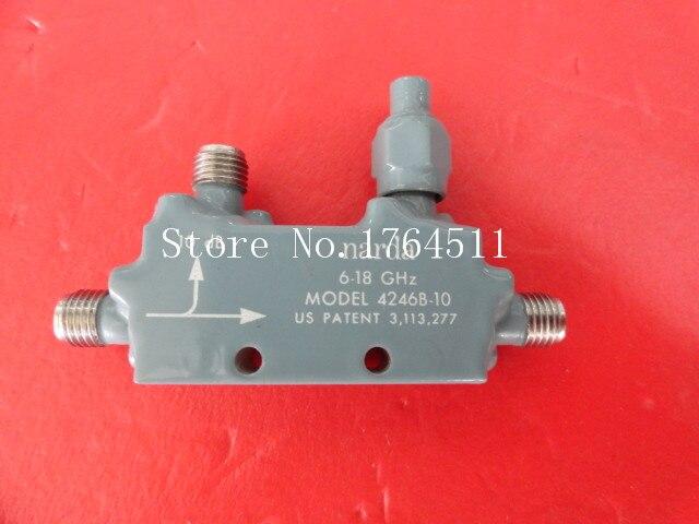 [BELLA] Narda 4246B-10 6-18GHz Coup:10dB SMA Supply Coupler