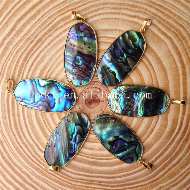 Wt p742 raw abalone shells wholesale pendant aa quality 24k gold wt p742 raw abalone shells wholesale pendant aa quality 24k gold trim round shape abalone aloadofball Image collections