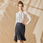 Women Skirt Retro Ge...