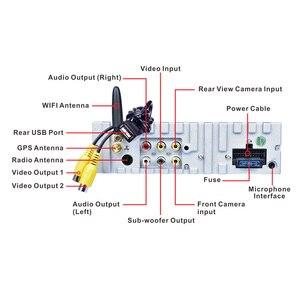 "Image 3 - Hikity 1 דין 7 ""רכב רדיו אנדרואיד אוטומטי נשלף Autoradio GPS ניווט Wifi מראה קישור רכב MP5 נגן תמיכה מצלמה"